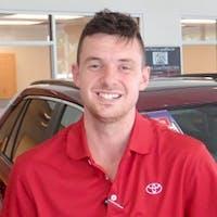 Jordan Hardy at Cain Toyota