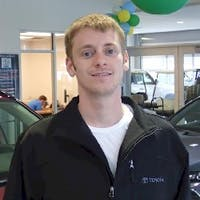 Anthony Ramage at Cain Toyota