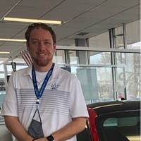 Justin Maus at Peru Ford