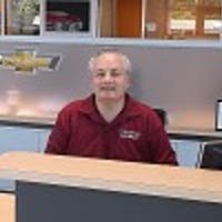 Jim  McLoughlin at Colonial Chevrolet