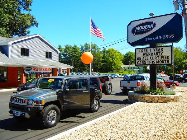 Modern Auto Sales, Tyngsboro, MA, 01879