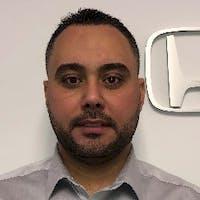 Hatem Rajab at Curry Honda Chicopee