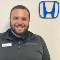 Brandon Morgado at Curry Honda Chicopee - Service Center