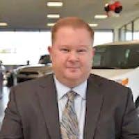 Justin Astrin at Dayton Toyota