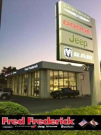 Fred Frederick Chrysler Dodge Jeep Ram, Easton, Easton, MD, 21601