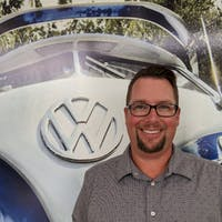Chris Hayes at Luther Burnsville Volkswagen