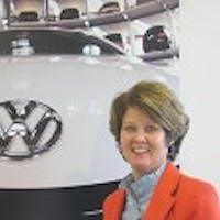 Linda Radue at Luther Burnsville Volkswagen