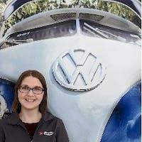 Emily Dziuk at Luther Burnsville Volkswagen