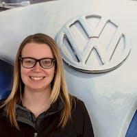 Sydney Stoesz at Luther Burnsville Volkswagen