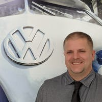 Jared Naegeli at Luther Burnsville Volkswagen