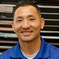 Derrick Hazen at Rockingham Toyota