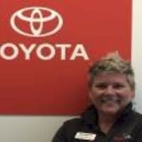 Margie  McQuillin at MotorWorld Toyota