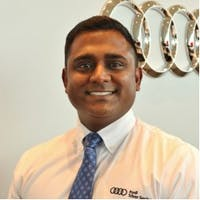 Evan Singham at Audi Silver Spring - Service Center