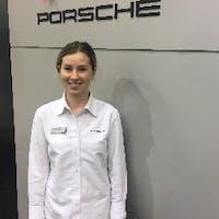 Natalie Muhlbock at Porsche Silver Spring