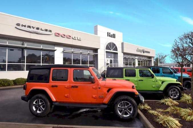 Hall Chrysler Dodge Jeep Ram, Virginia Beach, VA, 23452