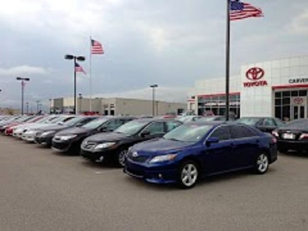 Carver Toyota of Columbus, Taylorsville, IN, 47280