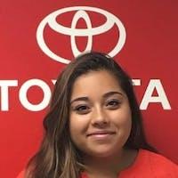 Anna Vargas at Empire Toyota of Huntington