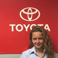 Michelle  Micalizzi at Empire Toyota of Huntington