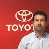 Juan Vargas at Empire Toyota of Huntington