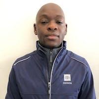 Razaq Olayioye at Pat Lobb Toyota of McKinney