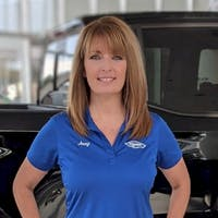 Jennifer Morelock at Lou Bachrodt Auto Mall