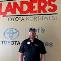 Bryan Huddleston at Steve Landers Toyota NWA