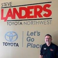 Brian Dameron at Steve Landers Toyota NWA