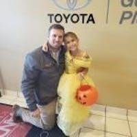 Eric Perkins at Steve Landers Toyota NWA