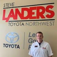 Jared Cypert at Steve Landers Toyota NWA