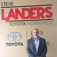 Michael Lucke at Steve Landers Toyota NWA