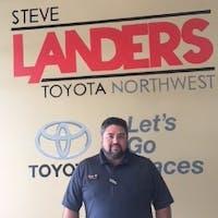 Chase Shelnutt at Steve Landers Toyota NWA