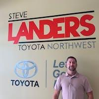 Kyle Maxwell at Steve Landers Toyota NWA