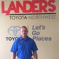 Chip  Anderson at Steve Landers Toyota NWA