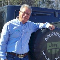 Fred Clark at Bournival Jeep