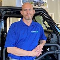 Stuart Katwick at Bournival Jeep