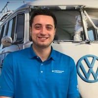 Midhat Efendic at Lithia Volkswagen of Des Moines