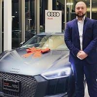 Anando Sacic at Audi Des Moines