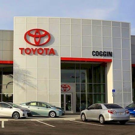 Coggin Toyota at the Avenues, Jacksonville, FL, 32256
