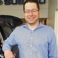 Edward Pavlotsky at Clay Subaru