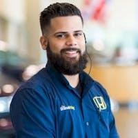 Gilbert Gil at Braman Honda of Palm Beach - Service Center