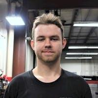 Brendan McCarel at Evans Toyota