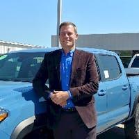 Chris Stahlman at Evans Toyota