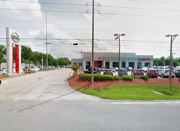 Coggin Nissan at the Avenues, Jacksonville, FL, 32256