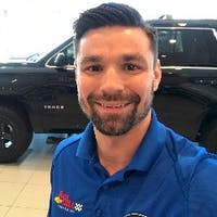 James Hargis at Tom Gill Chevrolet