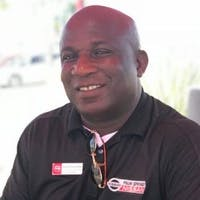 Maxwell Asika at Palm Springs Nissan