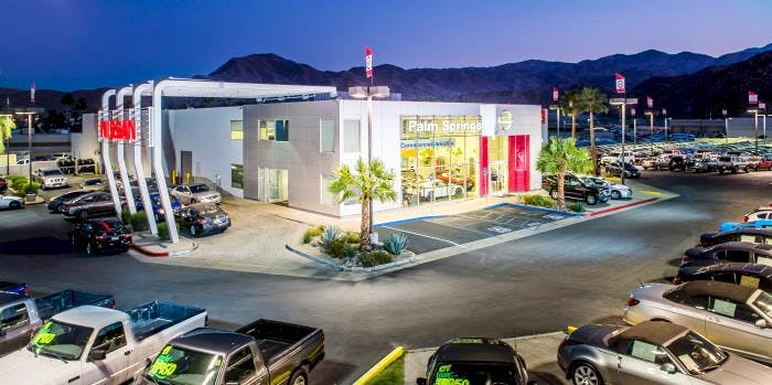 Palm Springs Nissan, Cathedral City, CA, 92234
