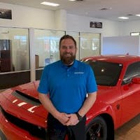 Chase Campbell at Superior Dodge Chrysler Jeep of Conway