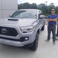 Luis  Catalan at Vaden Toyota of Sylacauga