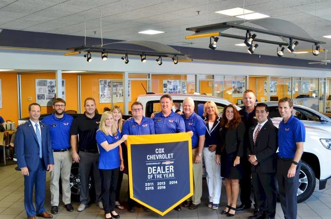 Cox Chevrolet Bradenton >> Cox Chevrolet Chevrolet Service Center Dealership Ratings