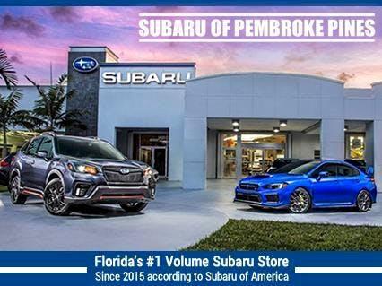 Subaru Of Pembroke Pines >> Subaru Of Pembroke Pines Subaru Used Car Dealer Service